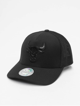 Mitchell & Ness Trucker Cap NBA Zig Zag Chicago Bulls  schwarz