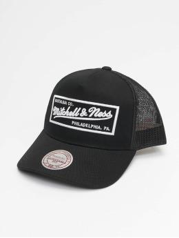 Mitchell & Ness trucker cap NBA ClassicTrucker Box Logo zwart
