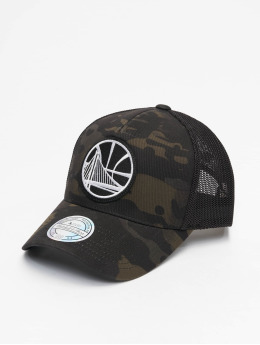 Mitchell & Ness Trucker Caps Multicam Gs Warriors camouflage