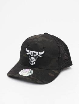 Mitchell & Ness Trucker Caps Multicam Chicago Bulls kamuflasje