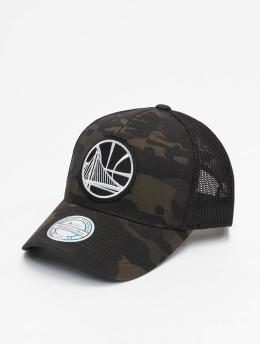 Mitchell & Ness Trucker Caps Multicam Gs Warriors moro