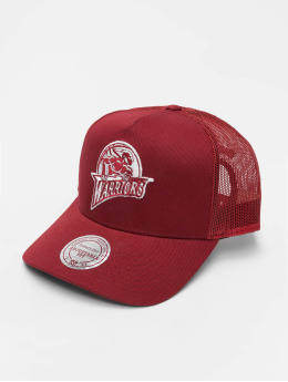Mitchell & Ness Trucker Caps NBA Golden State Warriors Classic red