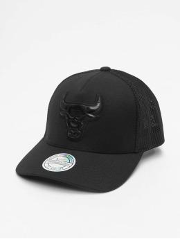 Mitchell & Ness Trucker Caps NBA Zig Zag Chicago Bulls  svart