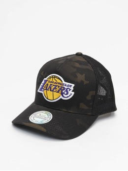 Mitchell & Ness Trucker Multicam La Lakers maskáèová