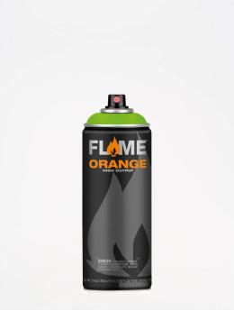Molotow Краска аэрозольная Flame Orange 400ml Spray Can 642 Kiwi зеленый