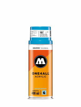Molotow Bombes One4All Acrylic Spray 400ml Spray Can 161 Schockblau Mittel bleu