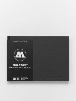 Molotow Equipment A5 Landscape Blackbook schwarz