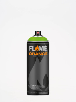 Molotow Pulverizador Flame Orange 400ml Spray Can 642 Kiwi verde