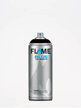 Molotow Spray Cans Flame Blue 400ml Spray Can 904 Tiefschwarz black