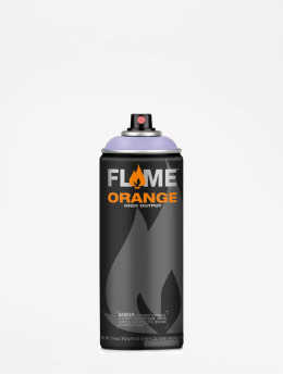 Molotow Spray Cans Flame Orange 400ml Spray Can 416 Veilchen Hell blue