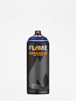 Molotow Spray Cans Flame Orange 400ml Spray Can 420 Veilchen Dunkel blue