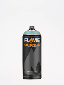 Molotow Spray Cans Flame Orange 400ml Spray Can 531 Grünspan Hell blue