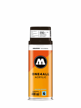 Molotow Spray Cans One4All Acrylic Spray 400ml Spray Can 092 Haselnussbraun brown