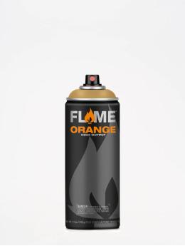 Molotow Spray Cans Flame Orange 400ml Spray Can 704 Beigebraun brown