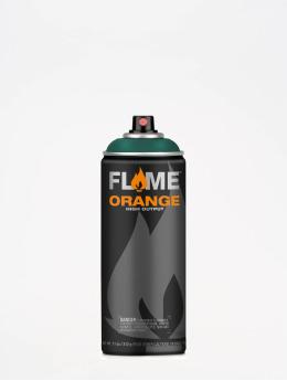 Molotow Spray Cans Flame Orange 400ml Spray Can 636 Tannengrün green