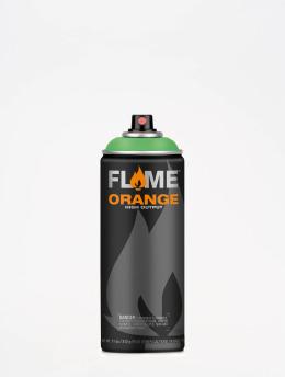 Molotow Spray Cans Flame Orange 400ml Spray Can 667 Crazy Menthol green