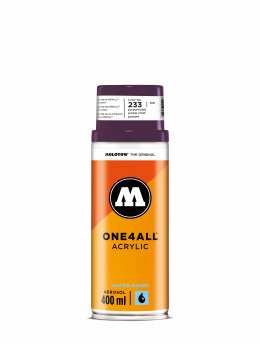 Molotow Spray Cans One4All Acrylic Spray 400ml Spray Can 233 Purpurviolett purple