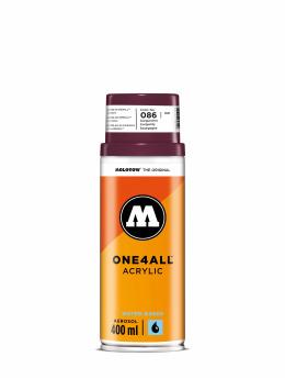 Molotow Spray Cans One4All Acrylic Spray 400ml Spray Can 086 Burgundrot red