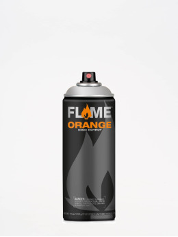 Molotow Spray Cans Flame Orange 400ml Spray Can 902 Ultra-Chrom silver