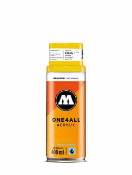 Molotow Spray Cans One4All Acrylic Spray 400ml Spray Can 006 Zinkgelb yellow