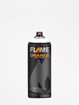 Molotow Spraydosen Flame Orange 400ml Spray Can 900 Reinweiss bialy