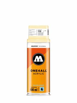 Molotow Spraydosen One4All Acrylic Spray 400ml Spray Can 115 Vanille Pastell gelb