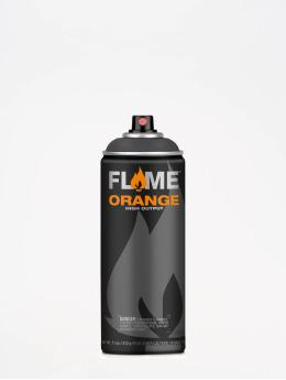 Molotow Spraydosen Flame Orange 400ml Spray Can 844 Anthrazitgrau grau