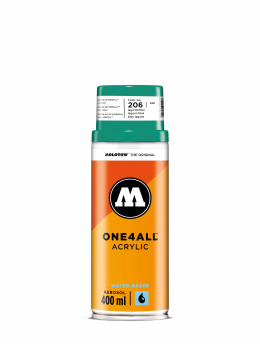 Molotow Spraydosen One4All Acrylic Spray 400ml Spray Can 206 Lagunenblau niebieski