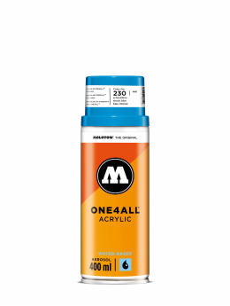 Molotow Spraydosen One4All Acrylic Spray 400ml Spray Can 230 Schockblau niebieski