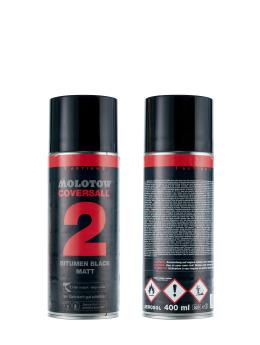 Molotow Spraydosen Covers All 2 schwarz