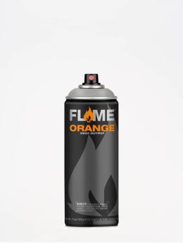 Molotow Spraydosen Flame Orange 400ml Spray Can 836 Mittelgrau Neutral szary
