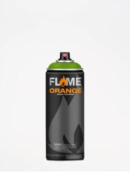 Molotow Spraydosen Flame Orange 400ml Spray Can 644 Kiwi Dunkel zelená