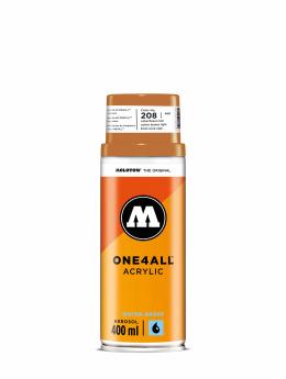 Molotow Spraymaling One4All Acrylic Spray 400ml Spray Can 208 Ockerbraun Hell brun