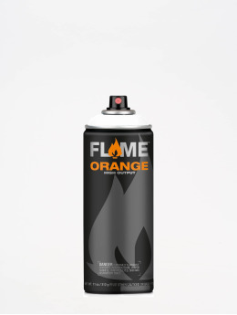 Molotow Spraymaling Flame Orange 400ml Spray Can 900 Reinweiss hvit