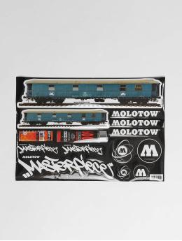 Molotow Tarvikkeet Sticker Sheet kirjava