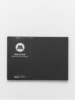Molotow Tarvikkeet A4 Landscape Blackbook musta
