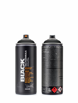 Montana Краска аэрозольная BLACK 400ml 9001 Black черный