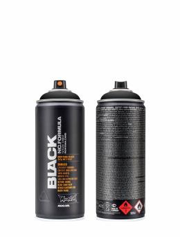 Montana Spray Cans BLACK 400ml 9001 Black black