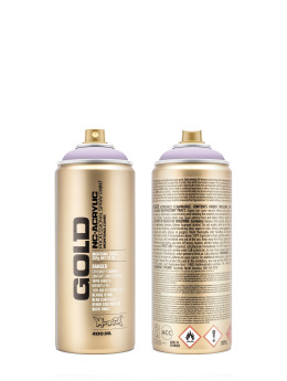 Montana Spray Cans GOLD_400ml 4100 White Lilac purple