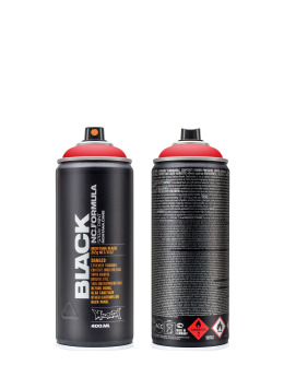 Montana Spray Cans BLACK 400ml 2093 Code Red red