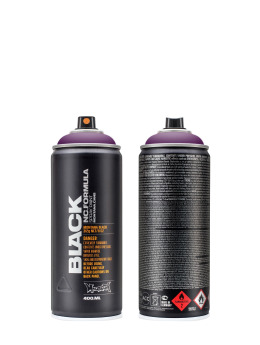 Montana Sprayburkar BLACK 400ml 4060 Galaxy lila