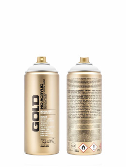 Montana Spraydosen GOLD_400ML 9120 Shock White Pure biela