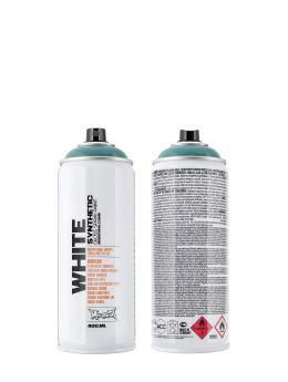 Montana Spraydosen WHITE 400ml 6220 Wave blau