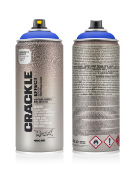 Montana Spraydosen CRACKLE Effect 400ml EC5010 Gentian Blue blau