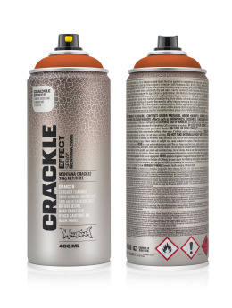 Montana Spraydosen CRACKLE Effect 400ml EC8004 Copper Brown braun