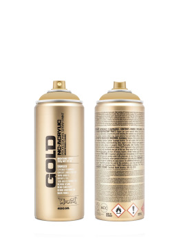 Montana Spraydosen GOLD_400ml 8310 Transparent hazelnut braun