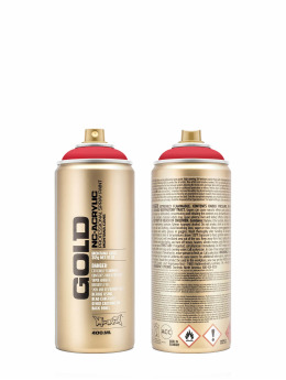 Montana Spraydosen GOLD_400ML 3000 Shock Red czerwony
