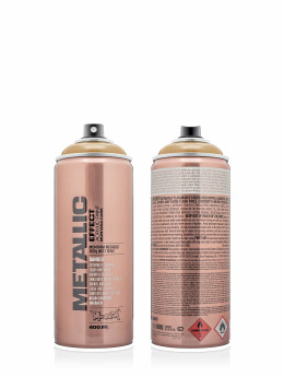 Montana Spraydosen METALLIC Effect 400ml EMC 1050 Metallic_Gold goldfarben