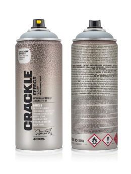 Montana Spraydosen CRACKLE Effect 400ml EC7000 Squirrel Grey grau