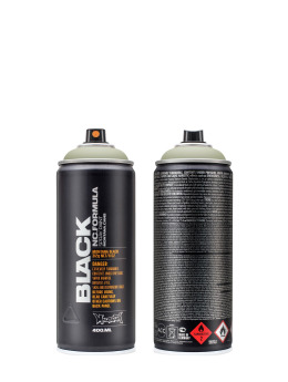 Montana Spraydosen BLACK 400ml 6910 Hannibal grau